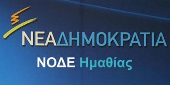 «Το Μακεδονικό σήμερα μετά τη συμφωνία των Πρεσπών» : εκδήλωση της ΝΟΔΕ Ημαθίας