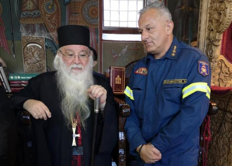 Πυροσβεστική Υπηρεσία Βέροιας : Ο «φύλαξ-άγγελος» των Μοναστηριών μας!