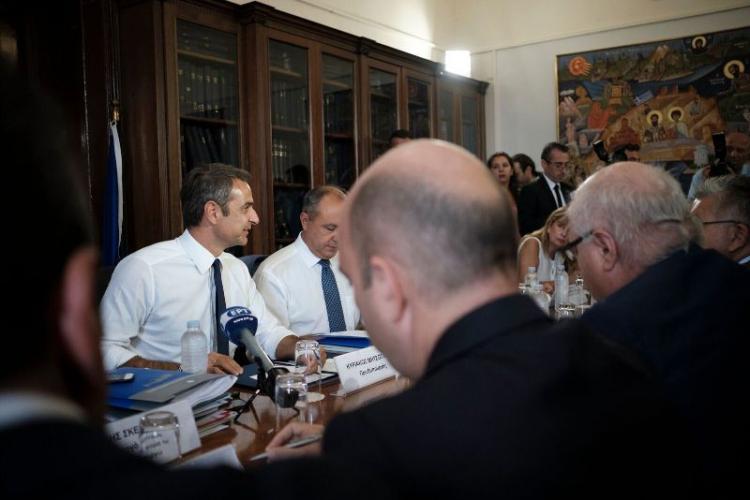 Κυριάκος Μητσοτάκης : «Θα υλοποιήσουμε μια συνεκτική στρατηγική συνολικά για τη Βόρεια Ελλάδα»
