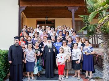 Ολοκληρώθηκε το τριήμερο φιλοξενίας κυριών στις εγκαταστάσεις της Ιεράς Μονής Παναγίας Δοβρά στη Βέροια