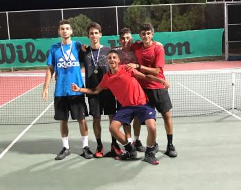 Oλοκληρώθηκε με επιτυχία το 4ο Πανελλαδικό Πρωτάθλημα τένις Ε1 για Αγόρια και Κορίτσια κάτω των δεκαοκτώ ετών