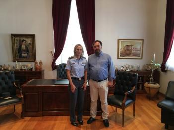 Συνάντηση Δημάρχου Βέροιας με τη νέα Διοικήτρια της Σχολής Μετεκπαίδευσης και Επιμόρφωσης της ΕΛ.ΑΣ. Βόρειας Ελλάδας