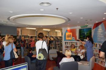 Επίσκεψη βιβλιοθηκονόμων από τη Σερβία στη Δημόσια Βιβλιοθήκη της Βέροιας