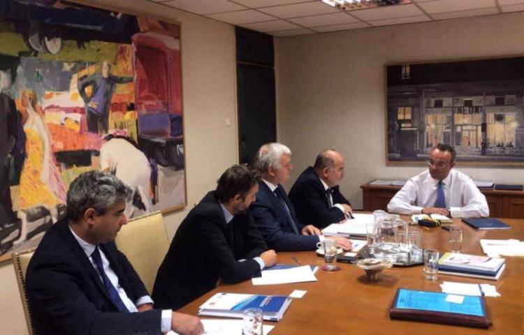 Συνάντηση ΓΣΕΒΕΕ με τον Υπουργό Οικονομικών κ. Χρήστο Σταικούρα