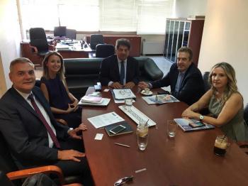 Συνάντηση του Συνηγόρου του Καταναλωτή, κ. Λευτέρη Ζαγορίτη, με τον Πρόεδρο της Ε.Σ.Ε.Ε. κ. Γιώργο Καρανίκα