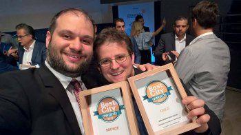 Δυο βραβεία για το δήμο Νάουσας στα Best City Awards