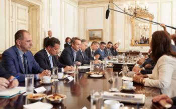 Περιφερειακή ανάπτυξη και κοινωνική συνοχή, στην ατζέντα της σύσκεψης του πρωθυπουργού με τους περιφερειάρχες