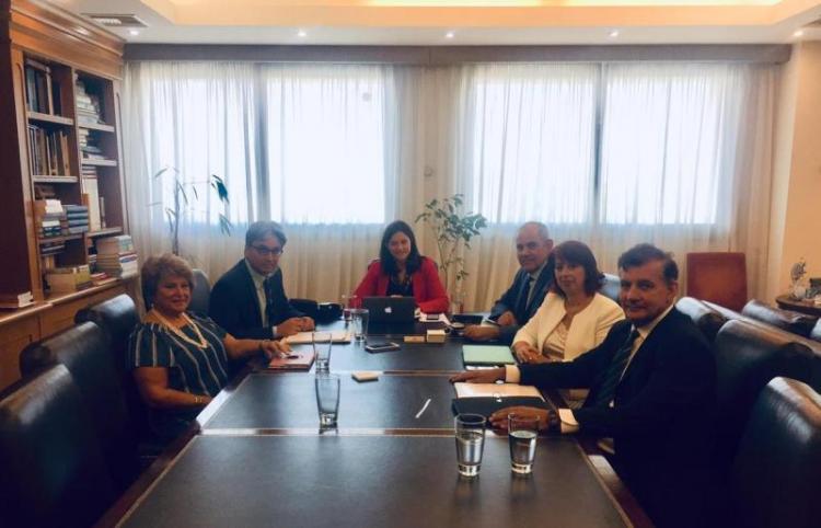 Συνάντηση της ηγεσίας του Υπουργείου Παιδείας και Θρησκευμάτων με το νέο Προεδρείο της Συνόδου των Πρυτάνεων