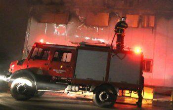 Πυρκαγιά σήμερα τα ξημερώματα σε επιχείρηση στο 4ο χλμ. Επ. Οδού Βέροιας -Νάουσας