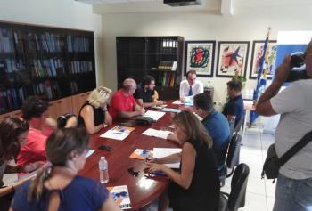 Συνέντευξη Τύπου του Περιφερειακού Διευθυντή Εκπαίδευσης Κεντρικής Μακεδονίας κ. Κόπτση σε εκπροσώπους των ΜΜΕ