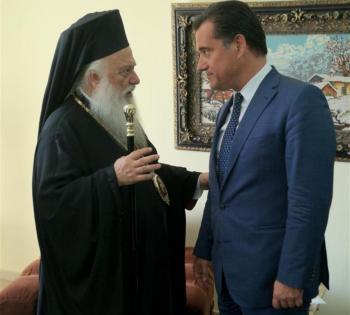 Σε θετικό σημείο η συνέχιση των διορισμών νέων κληρικών, όπως δήλωσε ο Άδωνις Γεωργιάδης στον Μητροπολίτη μας