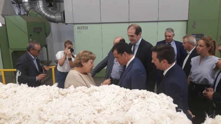 Ουσιαστικές συζητήσεις, γεμάτες αισιόδοξα μηνύματα, από την επίσκεψη Γεωργιάδη-Βεσυρόπουλου στην