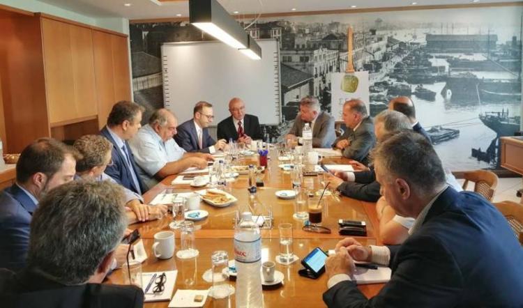 Συνάντηση ΣΕΒΕ με τον Υφυπουργό Εξωτερικών Κώστα Φραγκογιάννη
