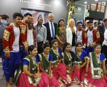 Με άρωμα Bollywood τα εγκαίνια του περιπτέρου του Διοικητηρίου στην 84η ΔΕΘ