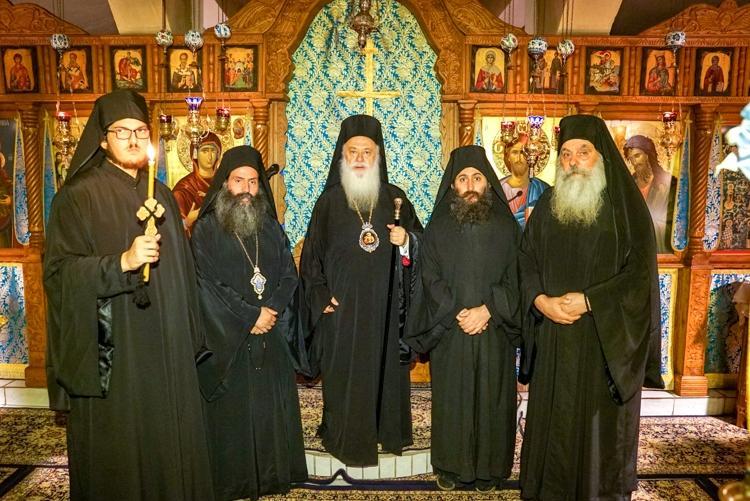 Πανηγύρισε η Ιερά Μονή Παναγίας Καλλίπετρας. Κουρά Μοναχού