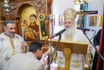 Η εορτή των Αγίων Θεοπατόρων Ιωακείμ και Άννης στο Γηροκομείο της Νάουσας