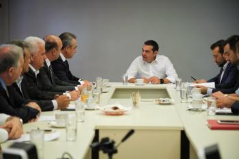 Συνάντηση ΓΣΕΒΕΕ με τον Αρχηγό της Αξιωματικής Αντιπολίτευσης και Πρόεδρο του ΣΥΡΙΖΑ κ. Αλέξη Τσίπρα