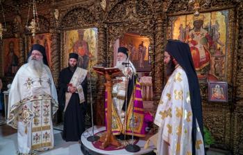 Εορτάστηκε η μνήμη του Αγίου Συμεών Θεσσαλονίκης. Μνημόσυνο για τα θύματα της Γενοκτονίας του Ελληνισμού της Μ.Ασίας