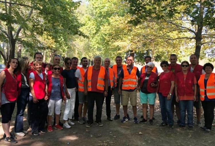 Σε εθελοντικό καθαρισμό στον Πολυπλάτανο ο Λάζαρος Τσαβδαρίδης