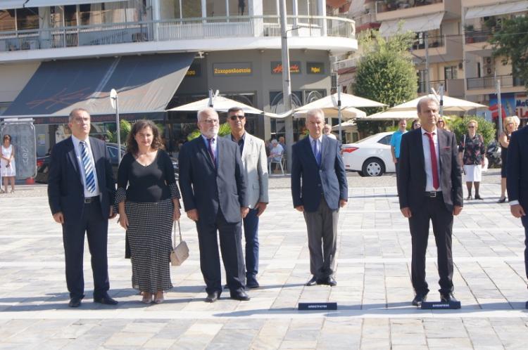 Ολοκληρώθηκαν οι εκδηλώσεις μνήμης για τη Γενοκτονία των Ελλήνων της Μ.Ασίας από το Τουρκικό Κράτος