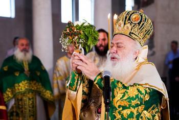 Θεία Λειτουργία από τη Θρακική Εστία Βέροιας προς τιμή του Τιμίου Σταυρού