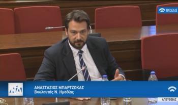 Ερώτηση του Τ.Μπαρτζώκα προς τον Υπ.Προστασίας του Πολίτη Μ.Χρυσοχοΐδη για τον απαρχαιωμένο στόλο της ΕΛ.ΑΣ. στην Ημαθία