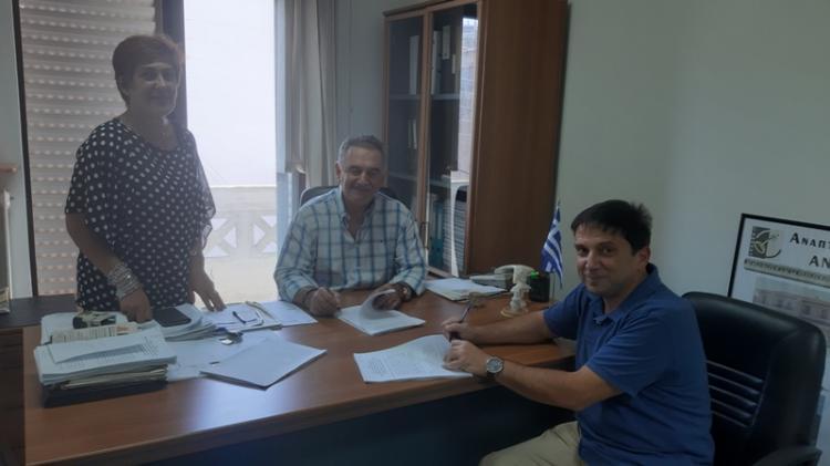 Υπογραφή νέων συμβάσεων από την ΑΝΗΜΑ ΑΕ