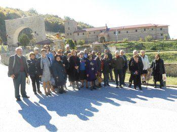 Προσκυνηματική επίσκεψη στην Ιερά Μονή Αγίας Τριάδας στο Σπαρμό Ολύμπου