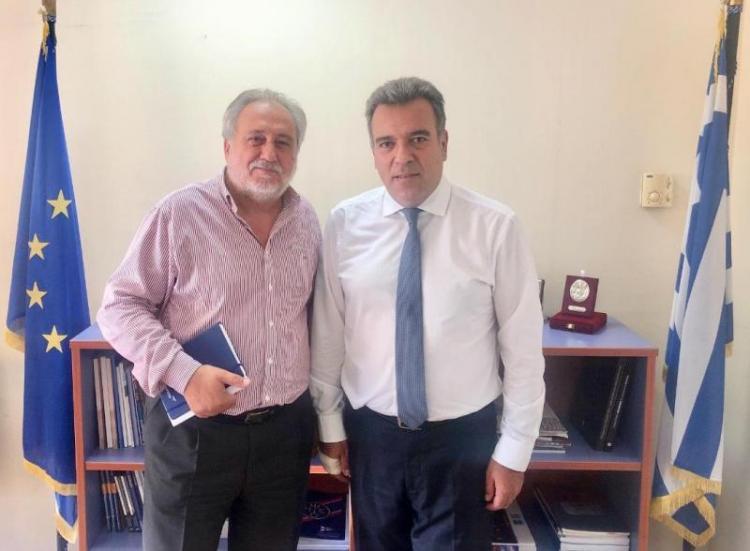 Συνάντηση του Υφ.Τουρισμού, κ. Μ.Κόνσολα, με τον Πρόεδρο της SkyExpress για την αεροπορική σύνδεση των μικρών νησιών