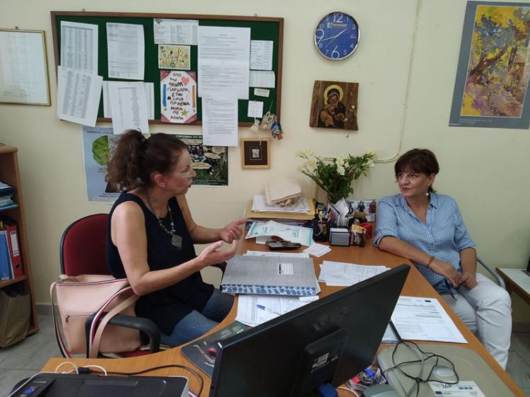 Συνάντηση Φρόσως Καρασαρλίδου με ΕΛΜΕ για το θέμα των ολιγομελών τμημάτων των ΕΠΑΛ
