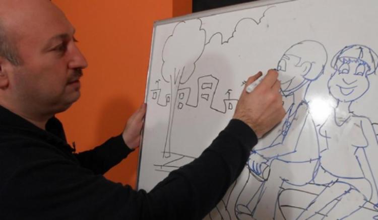 Ξεκινούν τα μαθήματα σκίτσου στην Εύξεινο Λέσχη Βέροιας