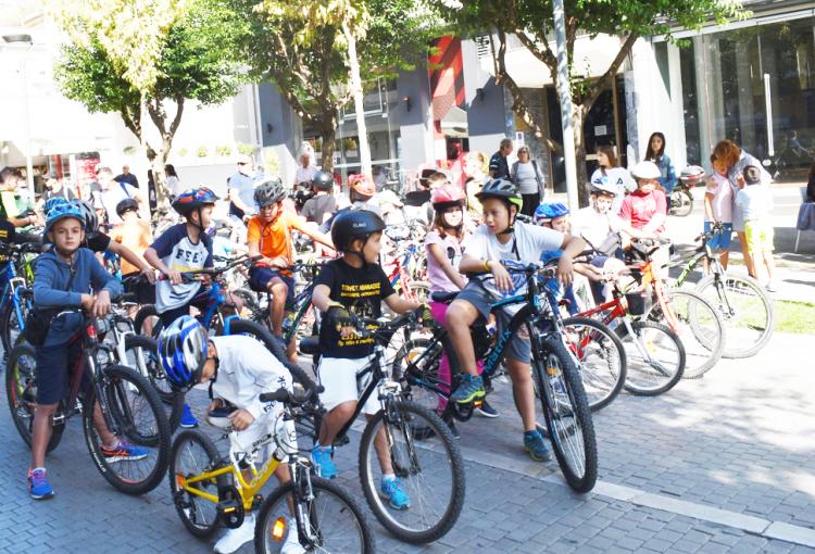 Με ποδηλατοδρομία η «Ημέρα χωρίς αυτοκίνητο» στην Βέροια