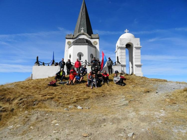 Ανάβαση του Ε.Ο.Σ. Νάουσας στην Κορυφή του Καϊμάκ Τσαλάν (Βόρας)