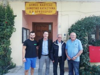 Επισκέψεις Δημάρχου Νάουσας Νικόλα Καρανικόλα στις Τοπικές Κοινότητες Γιαννακοχωρίου και Αρκοχωρίου
