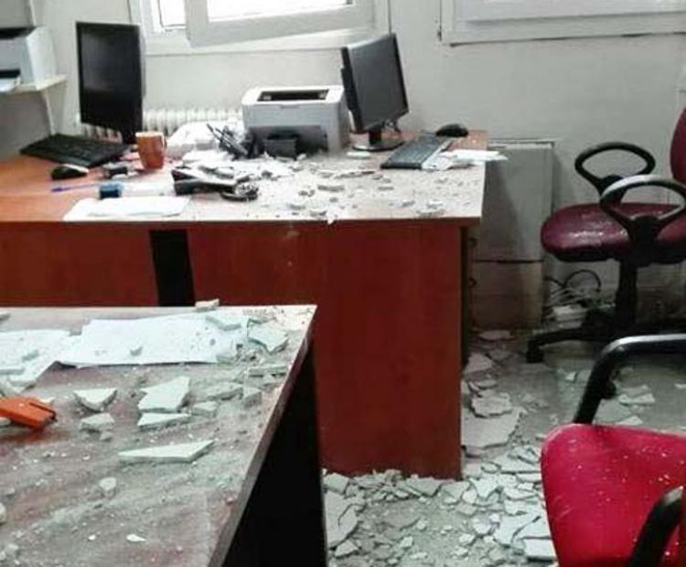 Νοσοκομείο Βέροιας: Τους έπεσε το ταβάνι στο κεφάλι