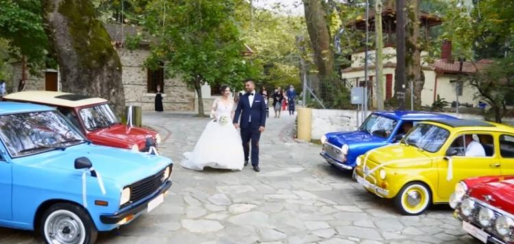 Γαμήλια....μαρσαρίσματα των φίλων του κλασικού αυτοκινήτου Βέροιας!