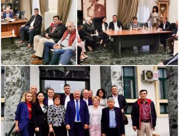 Συνάντηση του Δημάρχου Αλεξάνδρειας με πολυμελή αντιπροσωπεία της επαρχίας Τελεορμάν της Ρουμανίας