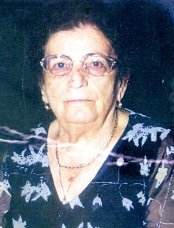 Σε ηλικία 91 ετών έφυγε από τη ζωή η ΑΘΗΝΑ ΣΠΥΡΙΔΩΝΙΔΟΥ