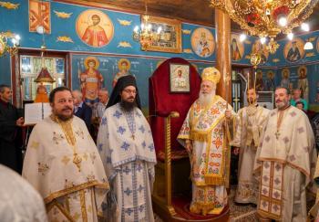 Η εορτή της μεταστάσεως του Αγίου Ιωάννου του Θεολόγου στην Ιερά Μητρόπολη Βεροίας