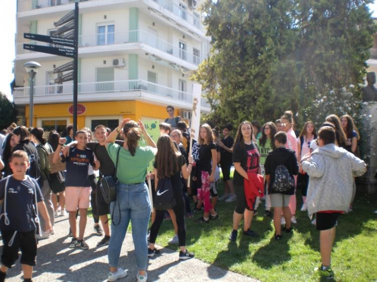 Βγήκαν στους δρόμους οι μαθητές διαμαρτυρόμενοι κατά της κλιματικής αλλαγής