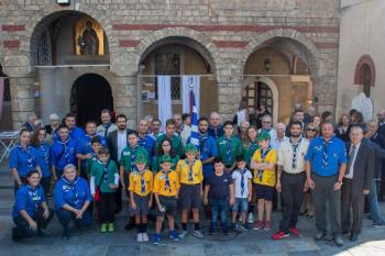 Μεγάλη συμμετοχή στην επιμνημόσυνη δέηση για τους πεσόντες Προσκόπους στον Ιερό Ναό Αγίου Αντωνίου της Βέροιας