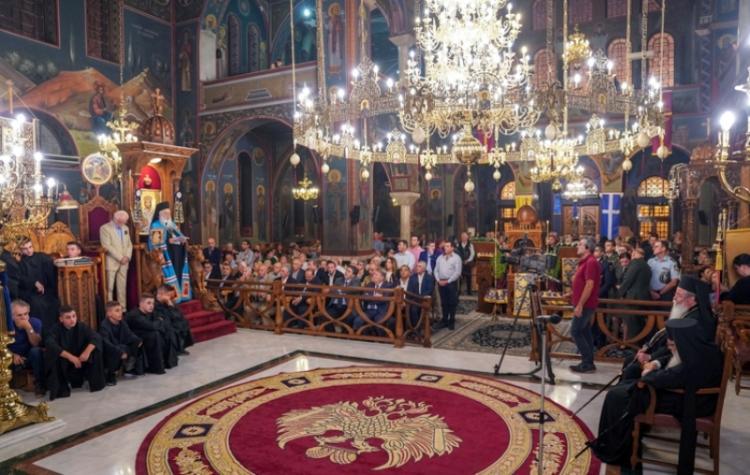 Tο Ιερό Εικόνισμα της Παναγίας Σουμελά υποδέχθηκε η Έδεσσα