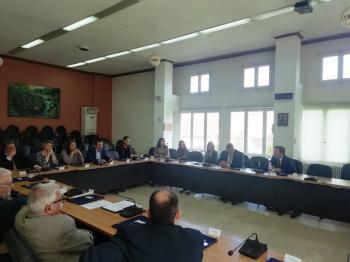 Συνάντηση του Δημάρχου Νάουσας Νικόλα Καρανικόλα με τους Δικηγόρους Νάουσας