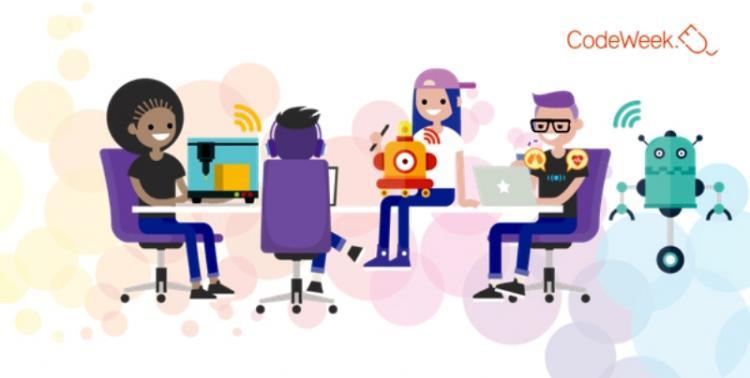 Eυρωπαϊκή Εβδομάδα Προγραμματισμού | CodeWeek.eu : Ανάπτυξη Ψηφιακών Δεξιοτήτων | 5-20 Οκτωβρίου 2019