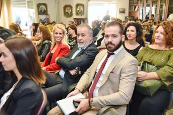 Συγκινημένος και υπερήφανος ο Απ. Μπούθας για τον νεοδιορισθέντα Δικηγόρο γιο του
