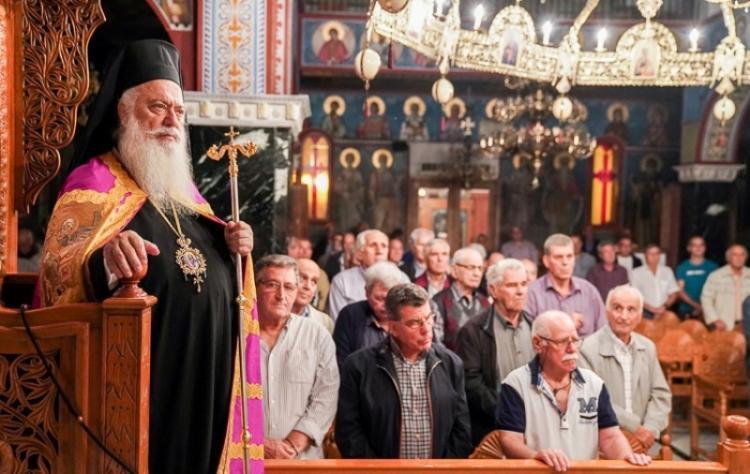 Εσπερινή Θεία Λειτουργία αφιερωμένη στους άνδρες της ενορίας στα Κύμινα