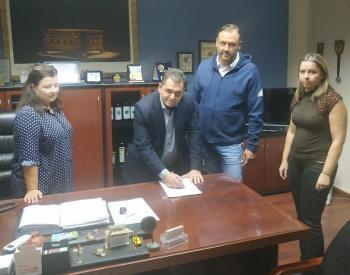 Υπογράφηκε η σύμβαση για την εκτέλεση του έργου «Κατασκευή και βελτίωση δρόμων Δήμου Αλεξάνδρειας»