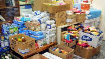 Διανομή προϊόντων μέσω της Κοινωνικής Σύμπραξης Π.Ε Ημαθίας για τους ωφελούμενους του ΤΕΒΑ/ΚΕΑ