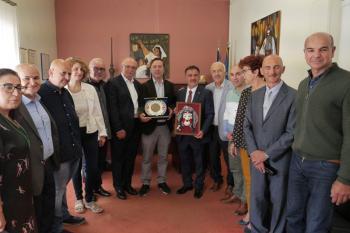 Συνάντηση του Δημάρχου Νάουσας με το Δήμαρχο Αργυρουπόλεως της Επαρχίας Τραπεζούντας και Τούρκους επιχειρηματίες