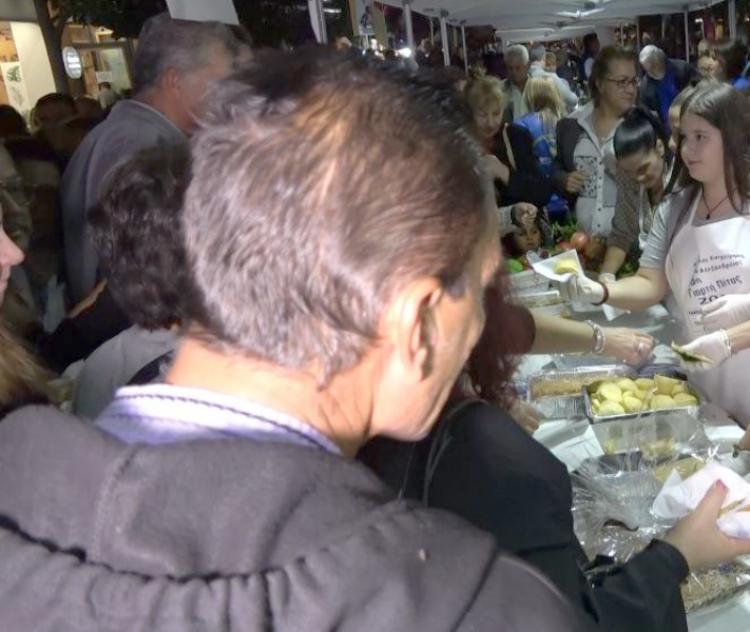 Πλήθος κόσμου στη 16η Γιορτή Πίτας στην Αλεξάνδρεια